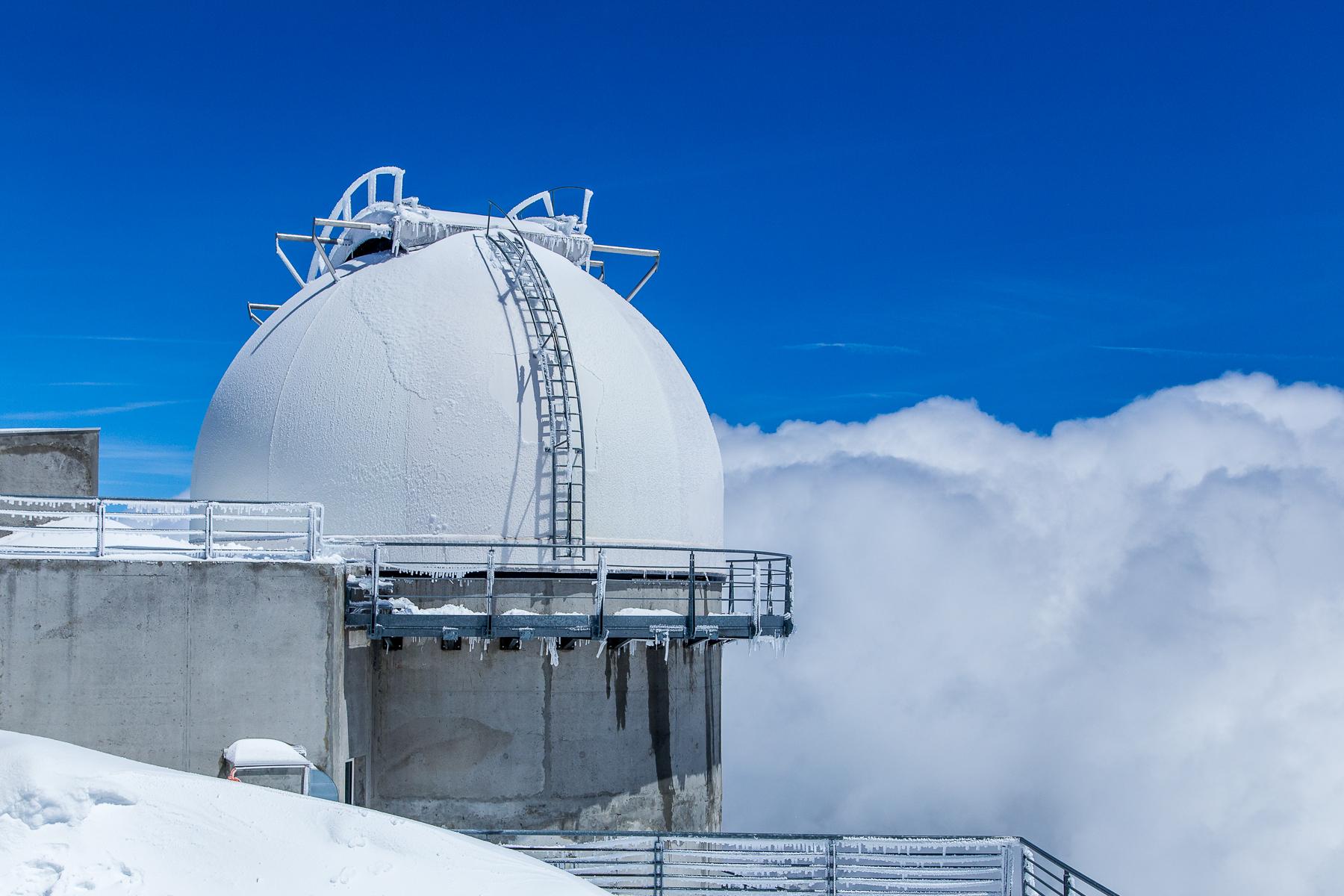Telescope at Pic du Midi