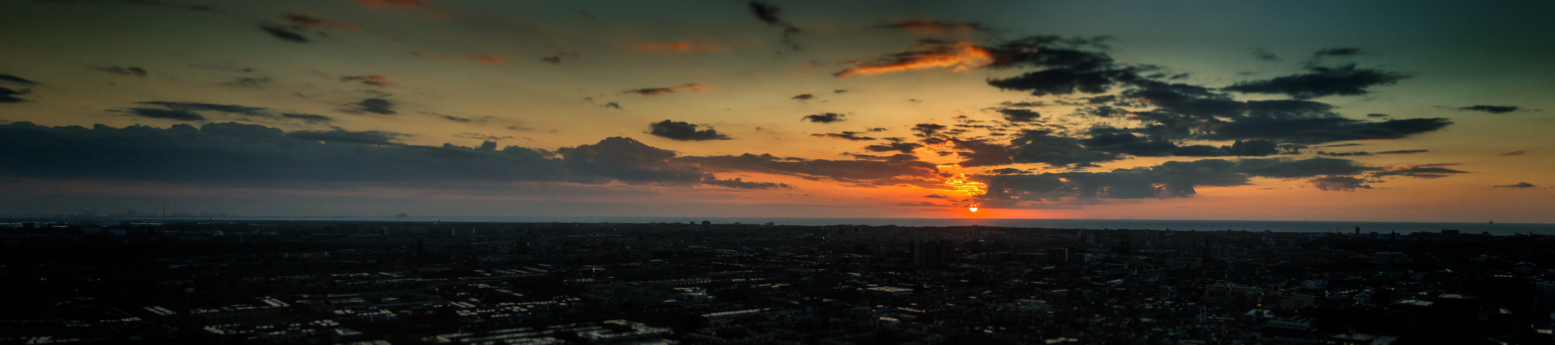 The Hague Sunset