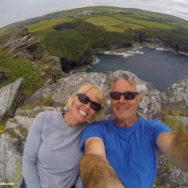 Selfie in Cornwall