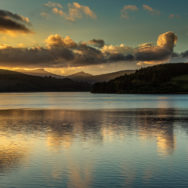 Sunset at Pontsticill Reservoir