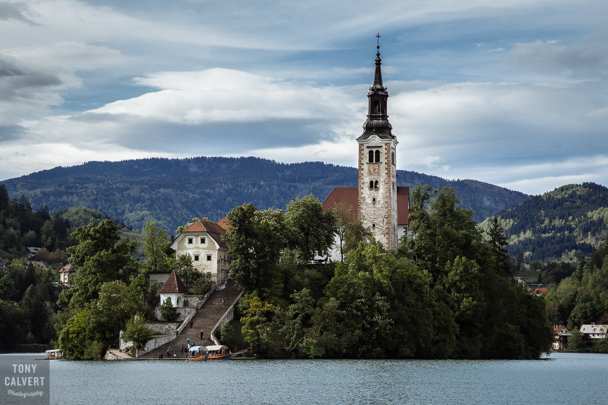St Michael's church on Lake Bled