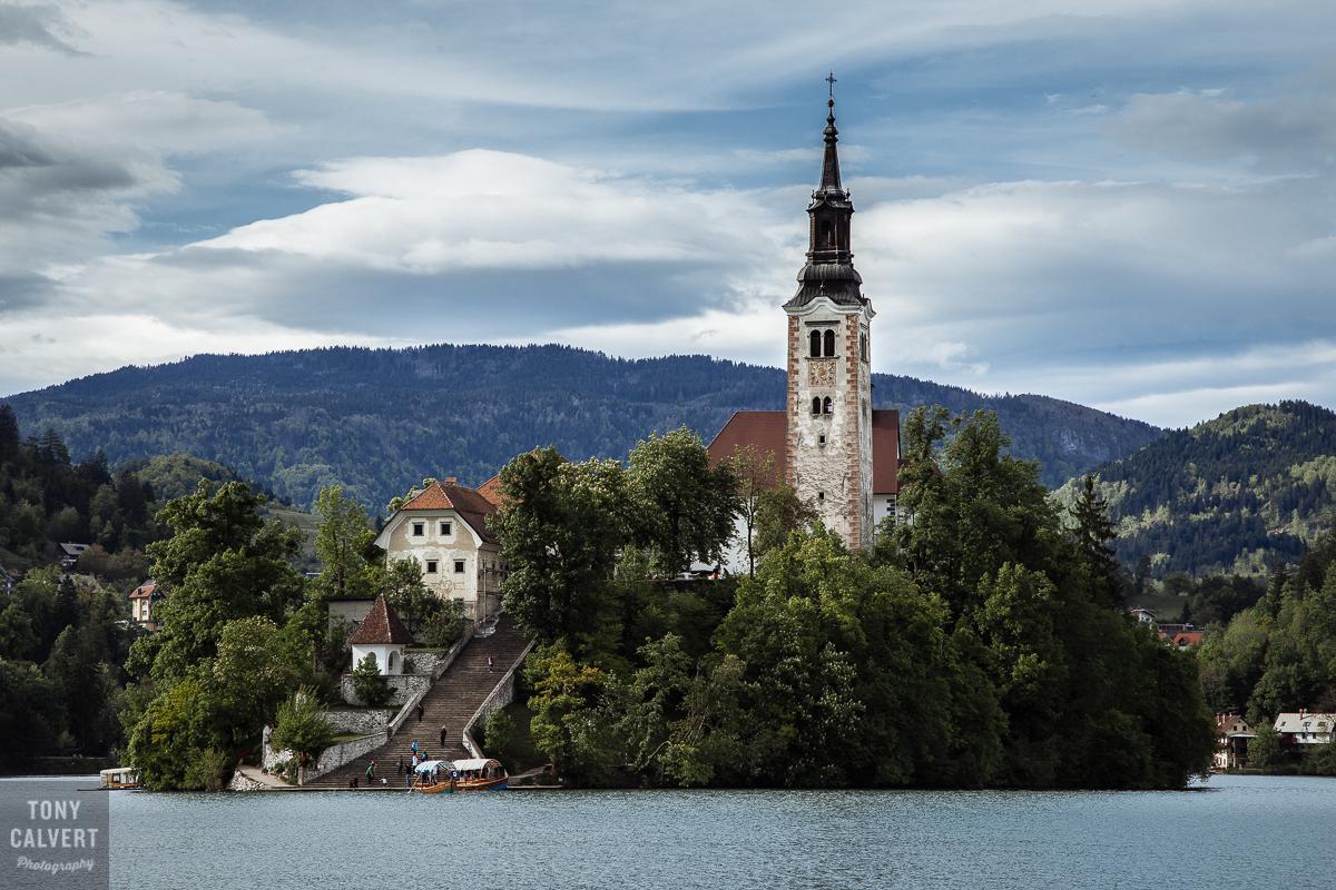 St Michael's church on Lake Bled